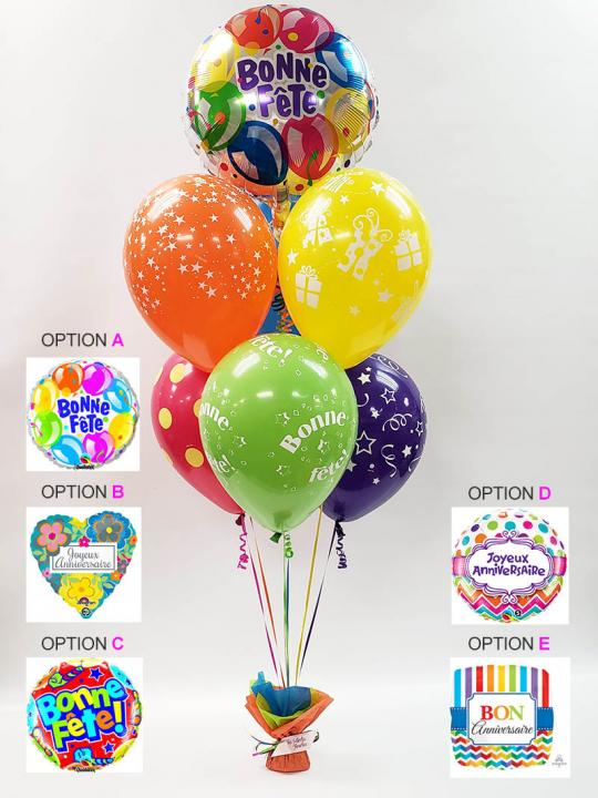 Bouquet de ballons BB-014