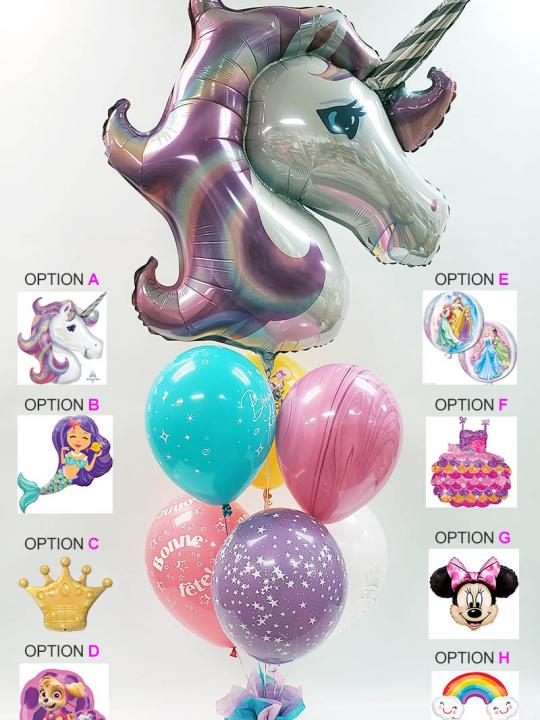 Bouquet de ballons BB-025