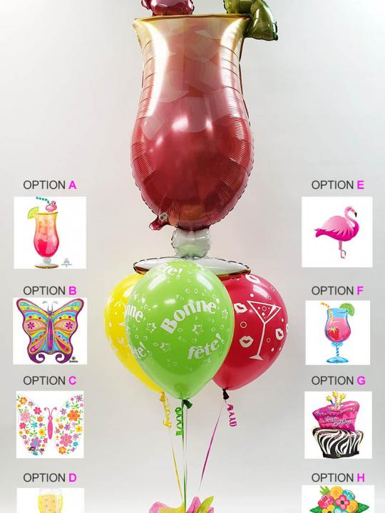 Bouquet de ballons BB-027