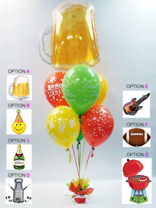 Bouquet de ballons BB-028