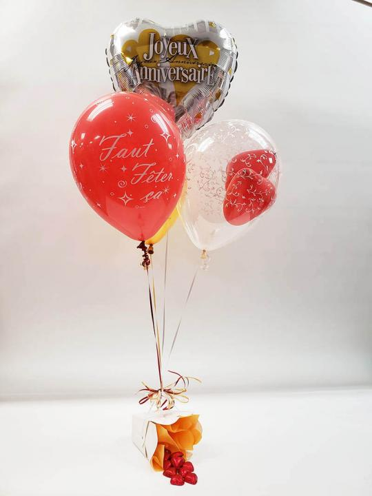 Bouquet de ballons BB-035