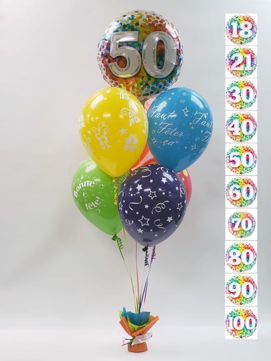 Bouquet de ballons BB-007
